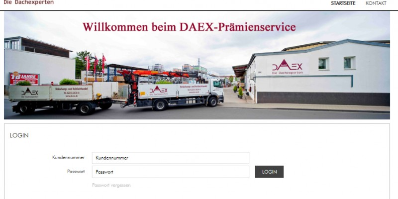 Log In Prämienservice